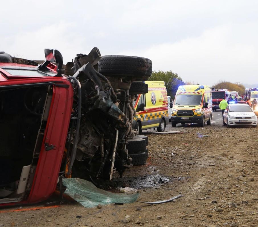 Σλοβακία : Τουλάχιστον 13 νεκροί σε σύγκρουση λεωφορείου με φορτηγό