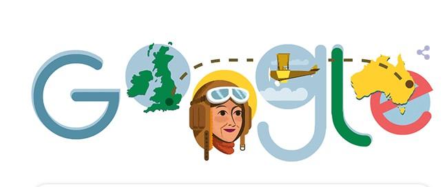Maude Lores Bonney : Η Google τιμά με doodle την πρώτη γυναίκα πιλότο