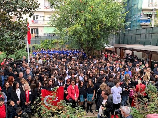 Εκατοντάδες Τούρκοι στη Θεσσαλονίκη για την επέτειο θανάτου του Κεμάλ Ατατούρκ