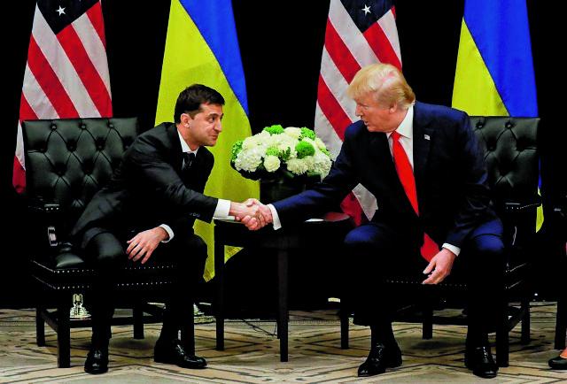 Ουκρανικό σκάνδαλο : Στο φως οι «λεπτομέρειες» της επικοινωνίας Τραμπ – Ζελένσκι