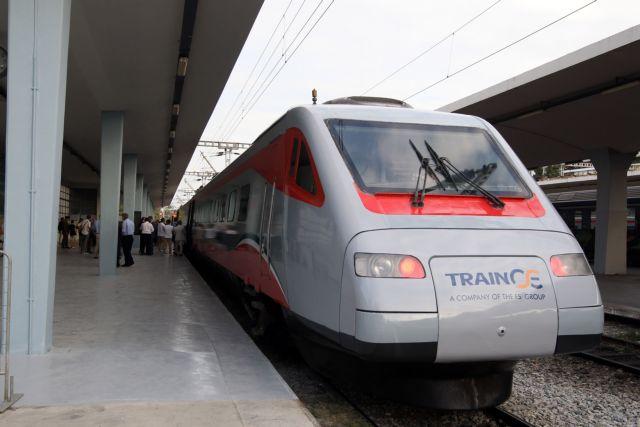 Θεσσαλονίκη : Διακοπή κυκλοφορίας τρένων – Μετατόπιση της γέφυρας από τις βροχές