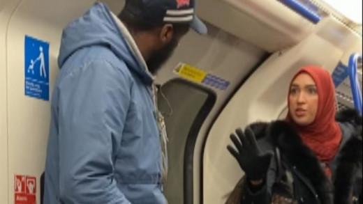 Λονδίνο : Μουσουλμάνα υπερασπίστηκε οικογένεια Εβραίων που δέχθηκαν αντισημιτική επίθεση