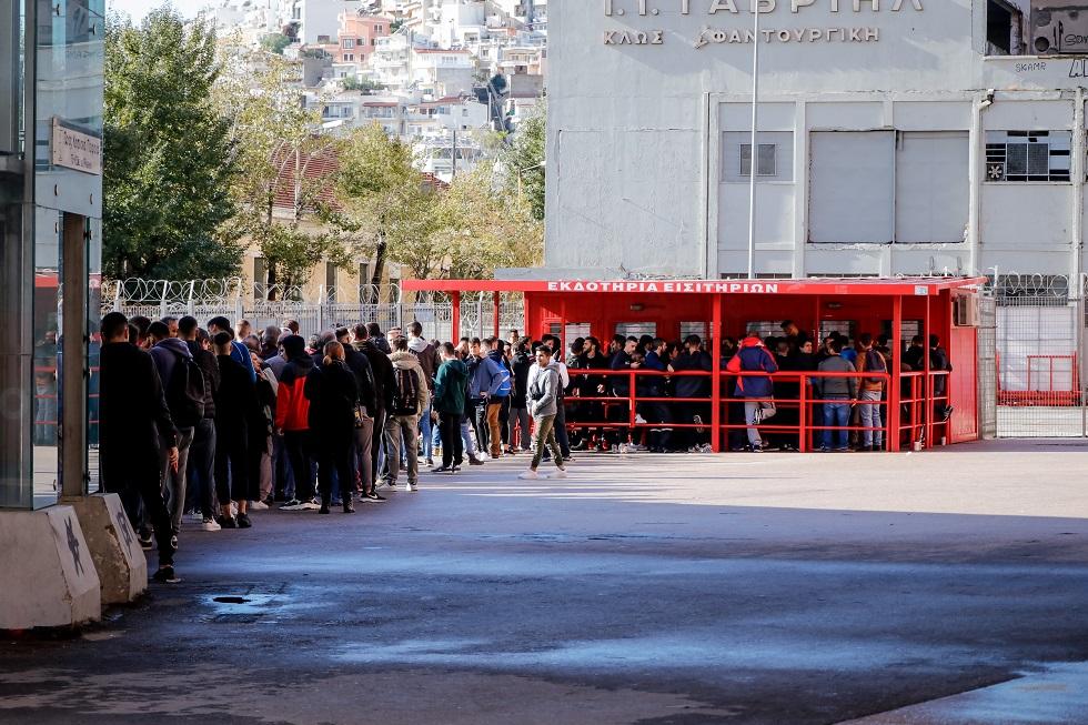 Ολυμπιακός: Χαμός για τα εισιτήρια του ντέρμπι με τον ΠΑΟΚ! (pics)