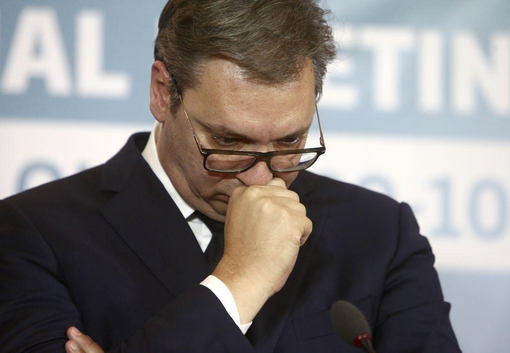 Στο νοσοκομείο ο σέρβος πρόεδρος Αλεξάνταρ Βούτσιτς