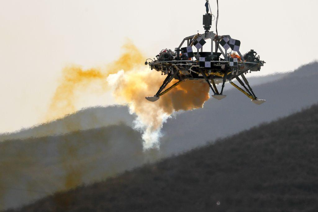 Όλα έτοιμα για τον Άρη – Πετυχημένη δοκιμή προσεδάφισης στη Γη από την Κίνα