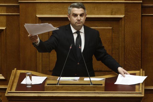 Κωνσταντινόπουλος σε Γεροβασίλη : Στο ίδιο ψέμα θεατές