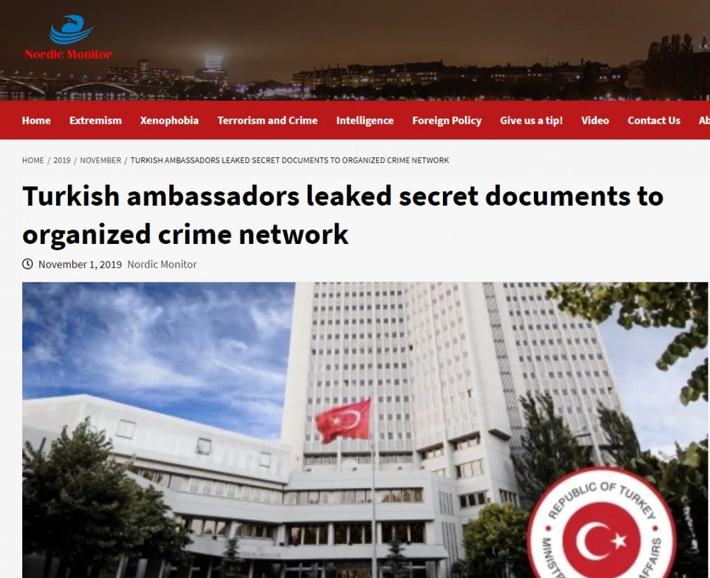 Τούρκοι διπλωμάτες διέρρευσαν διαβαθμισμένα έγγραφα – Πώς εμπλέκονται Ελλάδα και Κύπρος ....