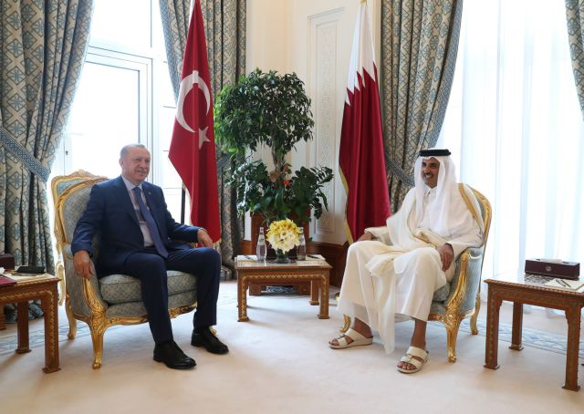Ερντογάν : Νέα ομπρέλα προστασίας στο Κατάρ