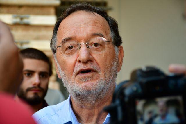 Σε νέα δίκη ο Λαφαζάνης για τους πλειστηριασμούς – Του «φορτώνουν» το μισό ποινικό κώδικα