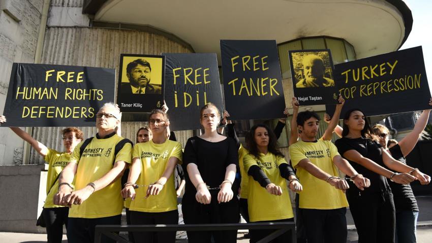 Τουρκία :  Ποινή κάθειρξης στον πρόεδρο της τουρκικής Διεθνούς Αμνηστίας
