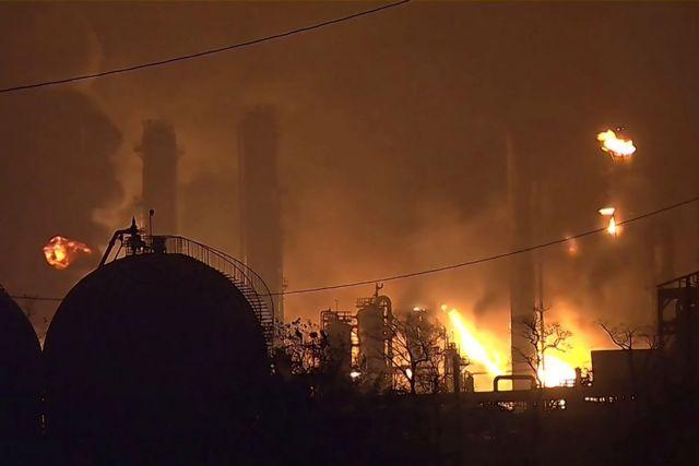 Συναγερμός στο Τέξας : Εκκενώνονται πόλεις λόγω νέας έκρηξης στο χημικό εργοστάσιο