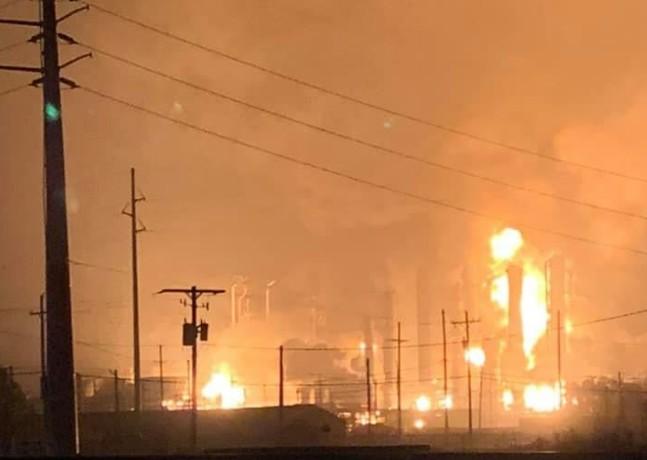 Ισχυρή έκρηξη σε εργοστάσιο χημικών στο Τέξας – Εκκενώθηκε η περιοχή