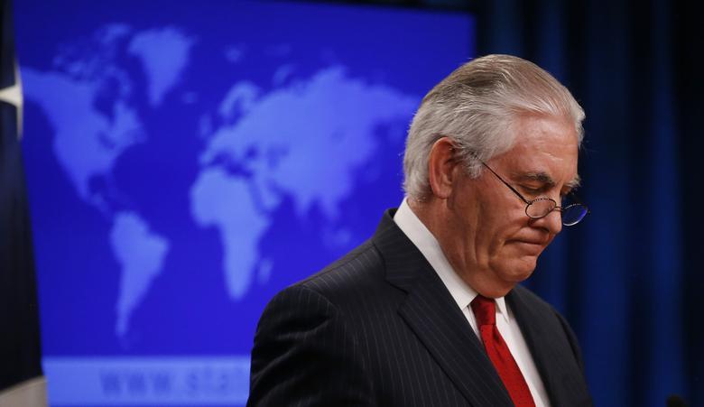 ΗΠΑ : Ο πρώην ΥΠΕΞ Τίλερσον επέκρινε τις κινήσεις Τραμπ που οδήγησαν στην παραπομπή του