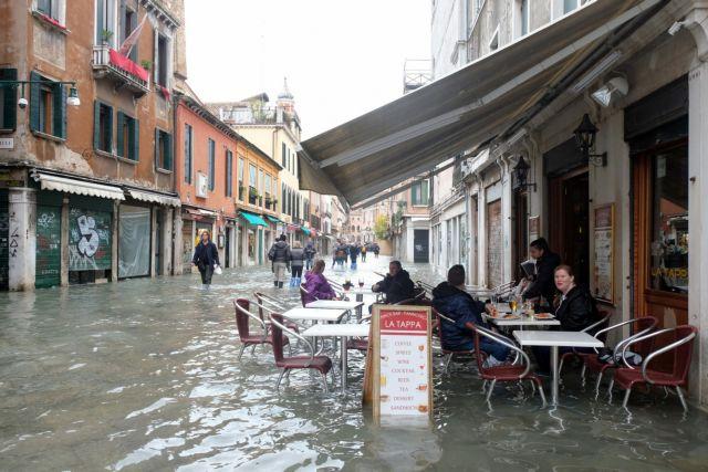 Θεσσαλονίκη όπως… Βενετία – Φόβοι για ανεξέλεγκτες πλημμύρες και καταστροφές