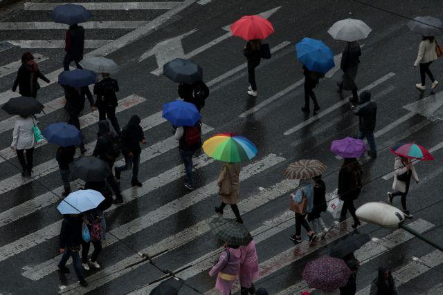 Καιρός : Τοπικές βροχές και πτώση της θερμοκρασίας