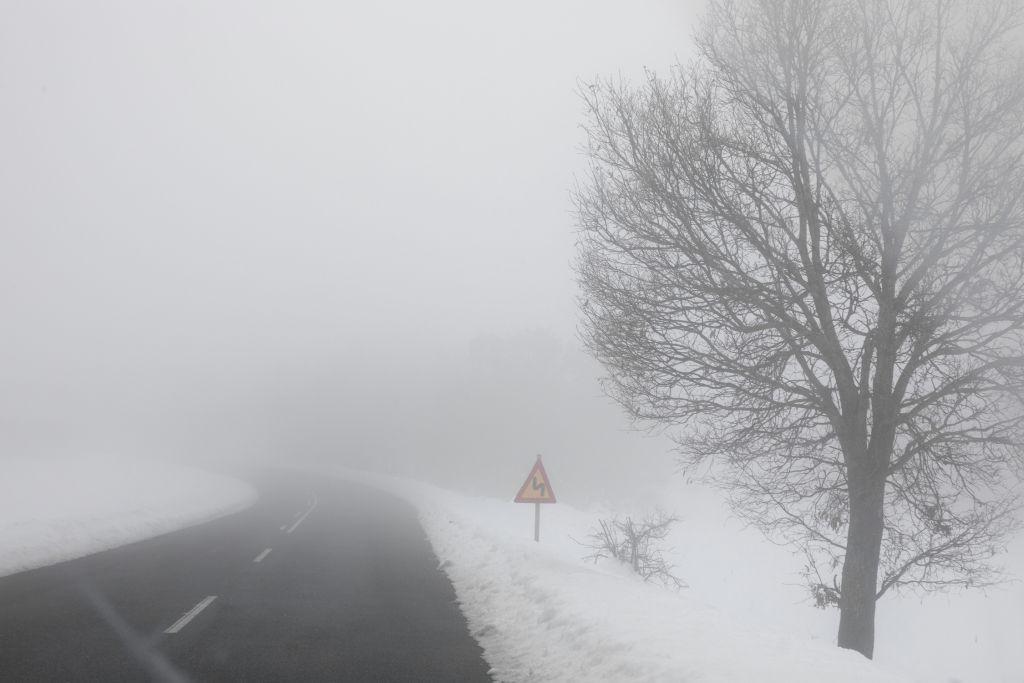 Εύβοια : Λεωφορείο έπεσε σε χαντάκι λόγω χιονόπτωσης –Εγκλωβισμένοι 53 φοιτητές | in.gr