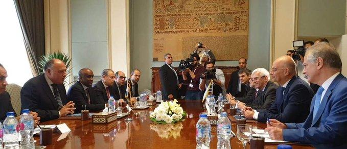 Δένδιας : Επιτάχυνση των συζητήσεων για τον χαρακτηρισμό και την οριοθέτηση των ΑΟΖ Ελλάδας – Αιγύπτου