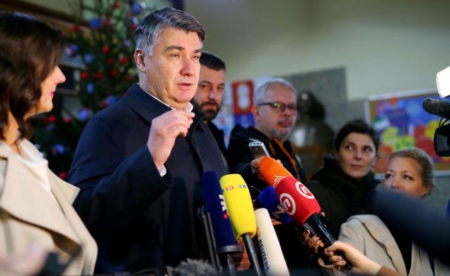 Κροατία : Mε 30,8% προηγείται ο Μιλάνοβιτς στον πρώτο γύρο των προεδρικών εκλογών