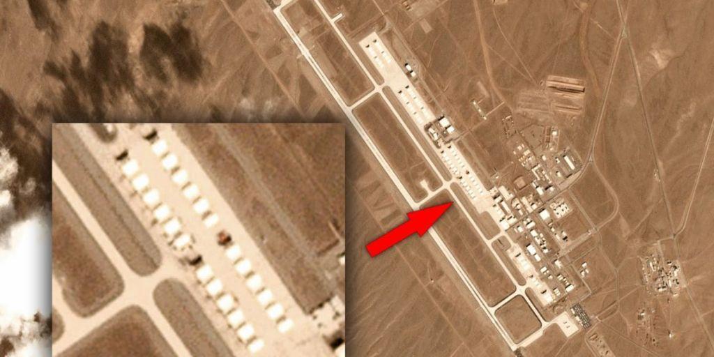 Διέρρευσαν δορυφορικές φωτογραφίες μυστικής αμερικανικής αεροπορικής βάσης