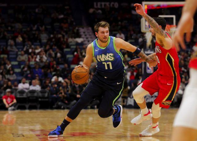 NBA : Ο Ντόντσιτς πήρε και πάλι το όπλο του