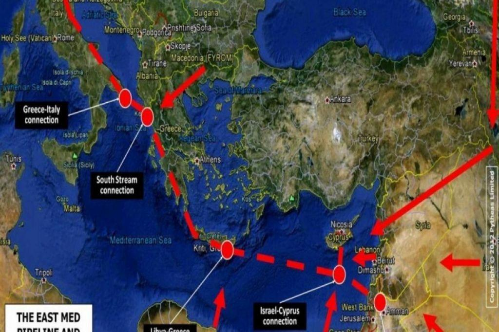 East Med : Ο αγωγός με την τεράστια γεωπολιτική και ενεργειακή σημασία