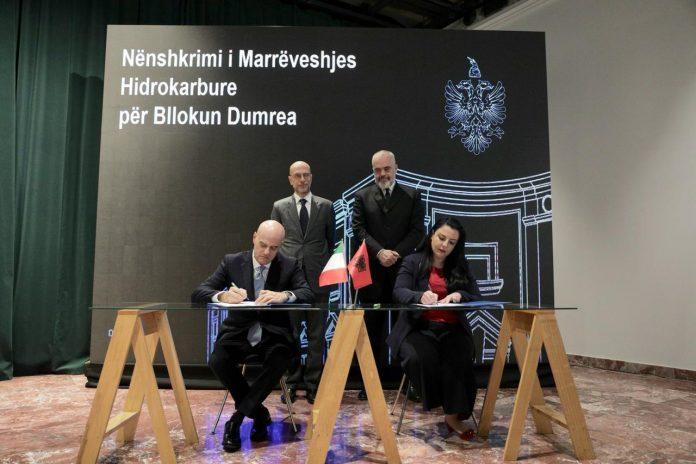 Αλβανία : Υπογραφή συμβάσεων με την ENI για έρευνα υδρογονανθράκων