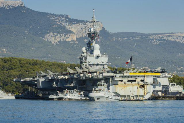 Στην Κύπρο το γαλλικό αεροπλανοφόρο Charles De Gaulle