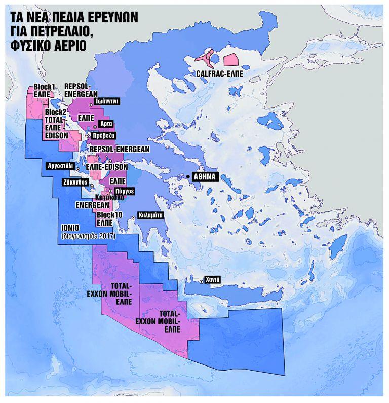 Ενδείξεις για ύπαρξη φυσικού αερίου σε Ιόνιο – Κρήτη