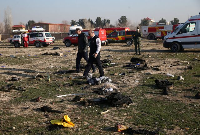 Αεροπορική τραγωδία στην Τεχεράνη – Ιρανοί και Καναδοί τα περισσότερα θύματα | in.gr