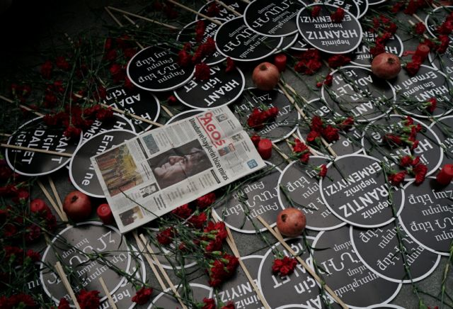 Οι Τούρκοι δεν ξέχασαν την ανεξιχνίαστη δολοφονία του δημοσιογράφου Χραντ Ντινκ