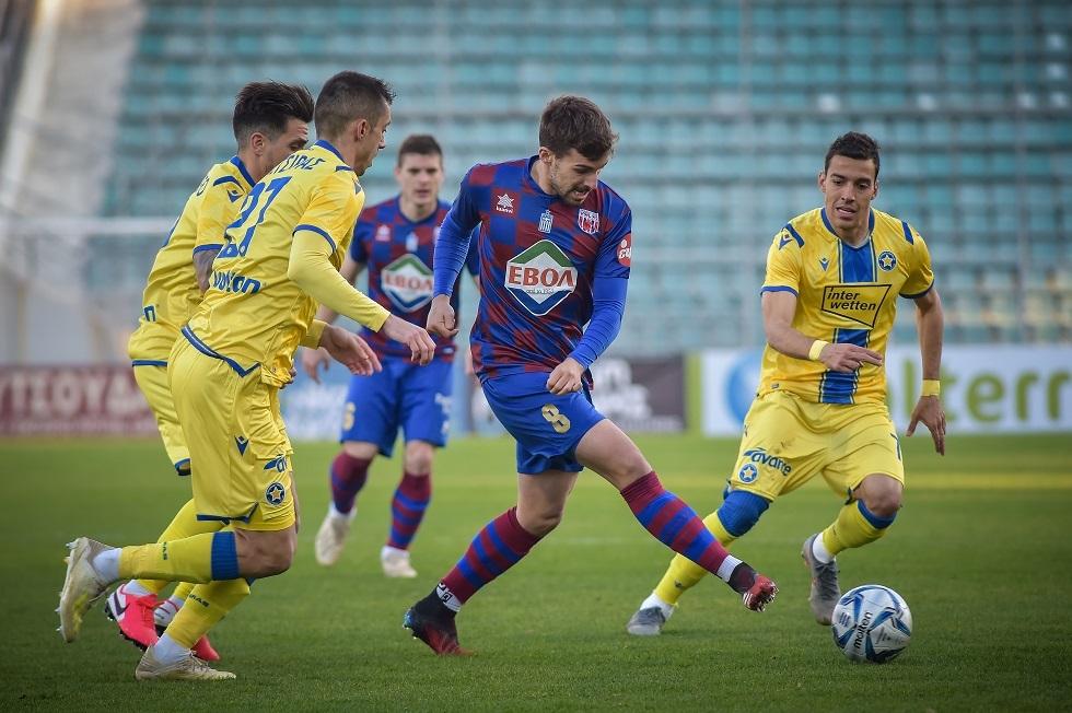 Βόλος- Αστέρας Τρίπολης 0-1