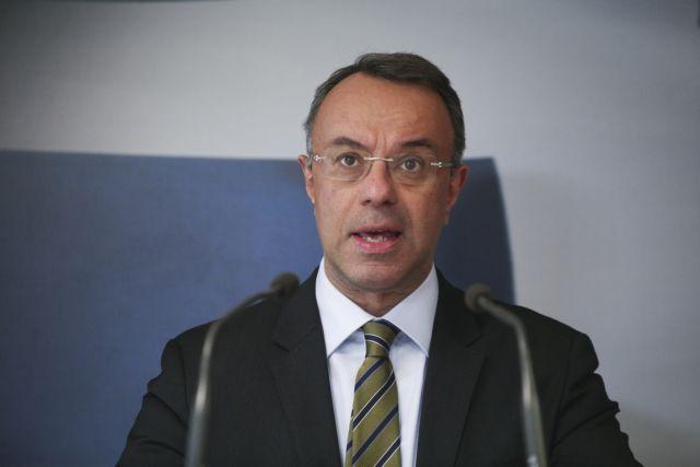 Στο MEGA ο υπουργός Οικονομικών Χρήστος Σταϊκούρας