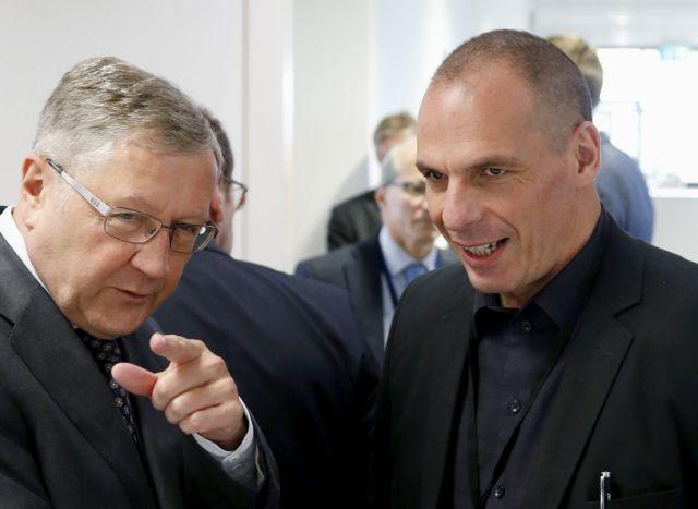 Ενόχληση των θεσμών για την πρόθεση του Βαρουφάκη να δημοσιεύσει τις ηχογραφήσεις των συνεδριάσεων του Eurogroup!