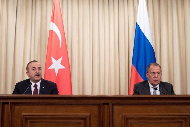 Λαβρόφ -Τσαβούσογλου : Συμφώνησαν στη τήρηση της …συμφωνίας για το Ιντλίμπ