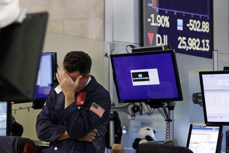 Κοροναϊός: Ανίατη η Wall Street... Κατέγραψε τη χειρότερη βδομάδα από την κρίση του 2008!