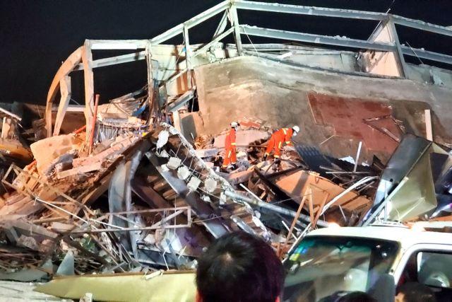 Κίνα : Τουλάχιστον 4 νεκροί από την κατάρρευση του ξενοδοχείου