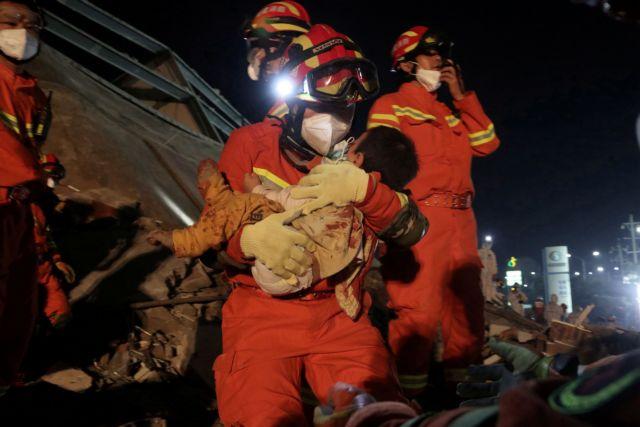 Κοροναϊός : Στους 18 οι νεκροί από την κατάρρευση ξενοδοχείου στην Κίνα
