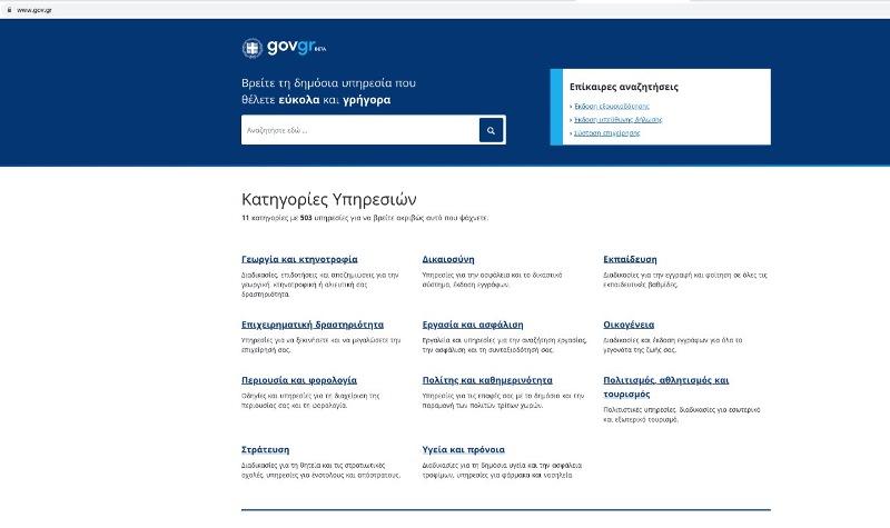 Image result for gov.gr