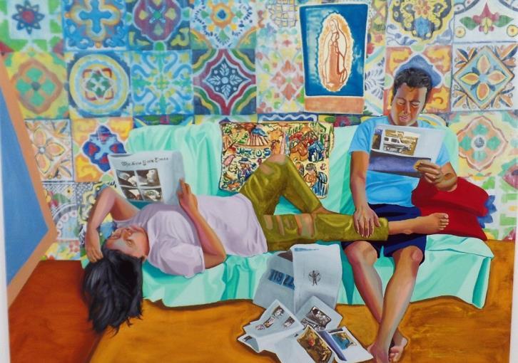 Ζωγράφοι θυμίζουν τις χαρές του «Μένουμε σπίτι!»