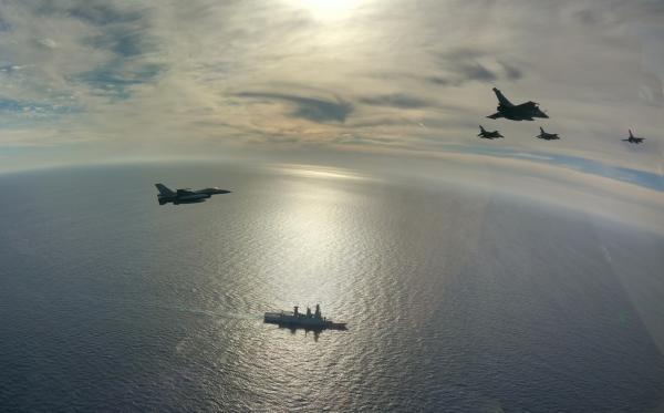 Πτήσεις συνεκπαίδευσης ελληνικών F-16 και γαλλικών Rafale 4