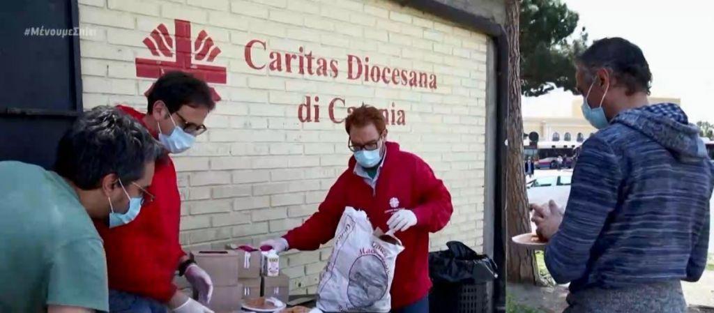 Δραματικές εικόνες στην Ιταλία – Ουρές σε συσσίτια λόγω κοροναϊού | in.gr