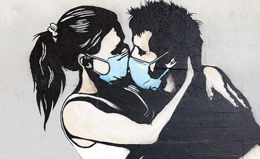 Οι street artists εμπνέονται από την πανδημία