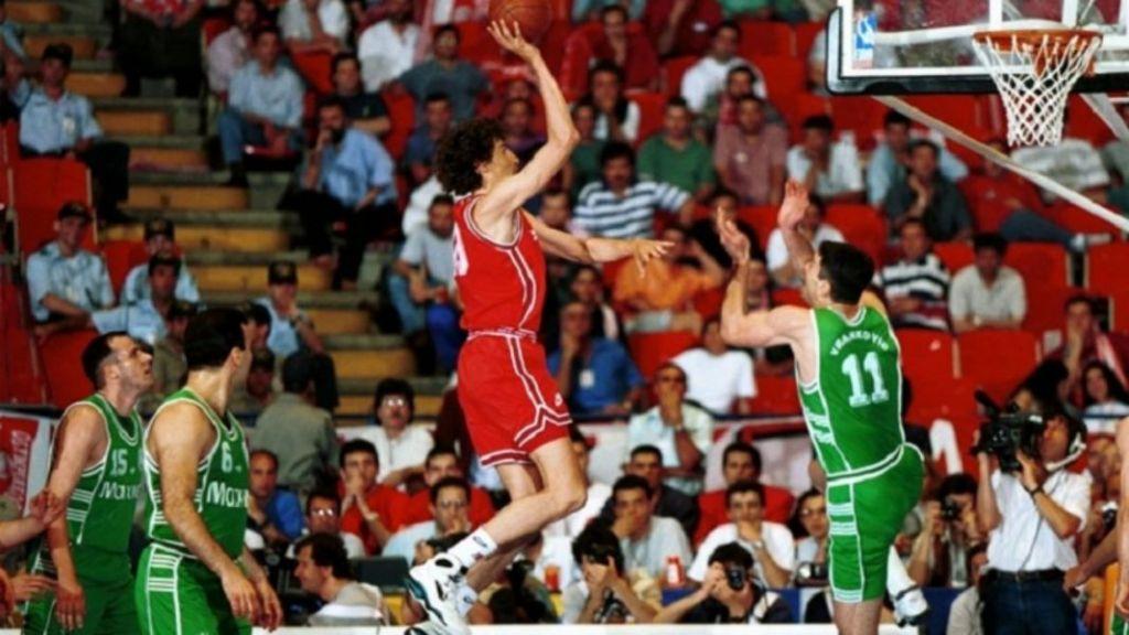 19/4/94 : Όταν ο Ολυμπιακός θριάμβευσε στο πρώτο ευρωπαϊκό ντέρμπι «αιωνίων»