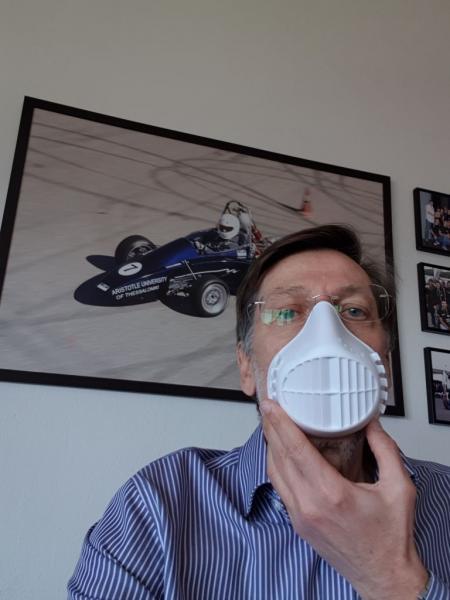 Αναπνευστική υποστήριξη με βαλβίδα 3D εκτύπωσης από το ΑΠΘ – Φτιάχνουν μάσκα υψηλής προστασίας