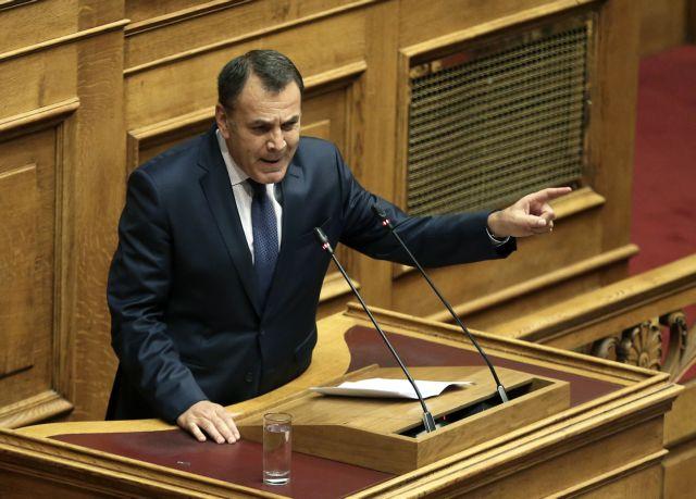 Παναγιωτόπουλος σε ΝΑΤΟ: Να διαθέσετε πρόσθετες δυνάμεις στο Αιγαίο