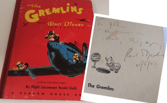 «The Gremlins»: Στο σφυρί σπάνιο υπογεγραμμένο αντίτυπο του βιβλίου