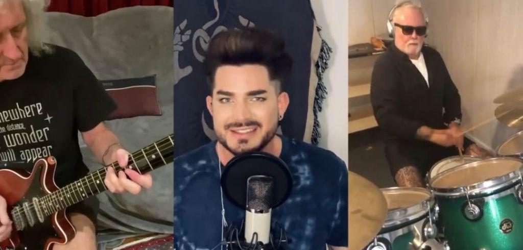Queen και Adam Lambert παίζουν το «We are the champions» σε παραλλαγή καραντίνας
