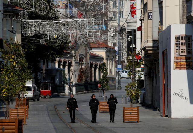 Κοροναϊός : Πάνω από 1.400 νεκροί στην Τουρκία – 107 νέοι θάνατοι