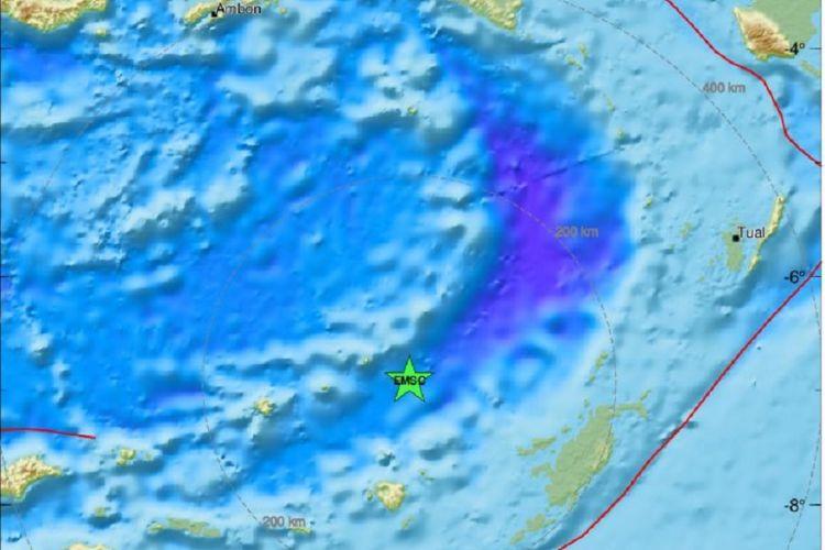 Ισχυρός σεισμός 6,9 Ρίχτερ ανοιχτά της Ινδονησίας