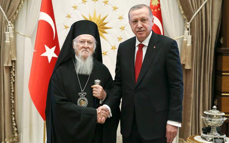 Γιατί οι Τούρκοι έβαλαν στο στόχαστρο τον Οικουμενικό Πατριάρχη   in.gr